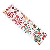 Amosfun Pegatinas de pared para Navidad, decoración de pared,...