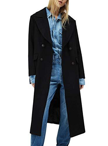 Pepe Jeans Abrigo Mara Negro para Mujer L