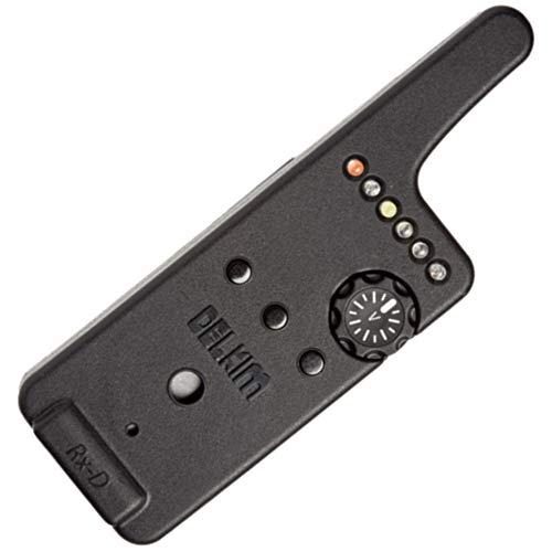 Delkim Rx-D Digital Receiver - Empfänger für Bissanzeiger zum Karpfenangeln, Funkbissanzeiger zum Angeln auf Karpfen