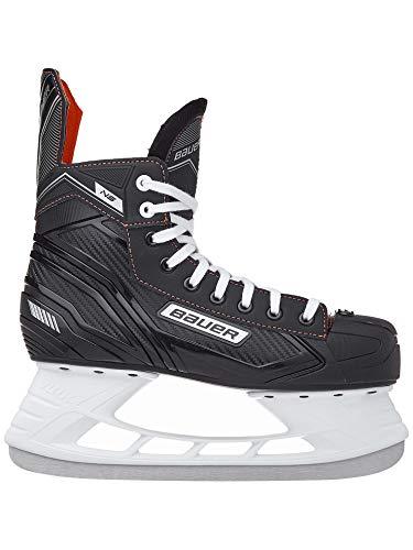 Eishockey-Schlittschuhe von Bauer, NS, schwarz / rot, UK 10.5 / EU 45.5 / US 11.5