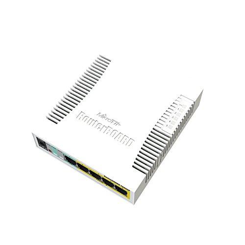 Mikrotik RB260GSP Managed network switch Gigabit Ethernet (10/100/1000) Energía sobre Ethernet (PoE) Blanco switch - Switch de red (Managed network switch, Gigabit Ethernet (10/100/1000), Energía sobre Ethernet (PoE))