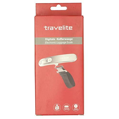Travelite Zubehör Digitale Kofferwaage Alu 15 cm silver