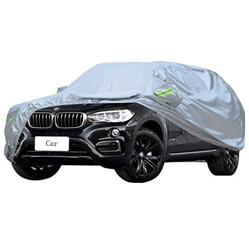 Autoabdeckung Kompatibel mit BMW X1 X3 X4 X5 X6 Autoabdeckung SUV Dicker Oxford-Stoff Sonnenschutz Regen und Frostschutzmittel Warm Car Cover (größe : Compatible With BMWX6)