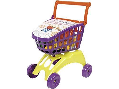 IMITOYS Carrito Supermercado con Accesorios 50x41x25cm Vicam Toys 20-JU