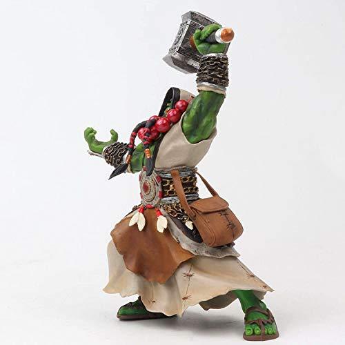 Bosi General Merchandise World of Warcraft, Patriarch des Frostwolfs, Thrall, bewegliches Modell des Orkschamanen, PVC, Sammlermodell, Spielzeuggeschenk