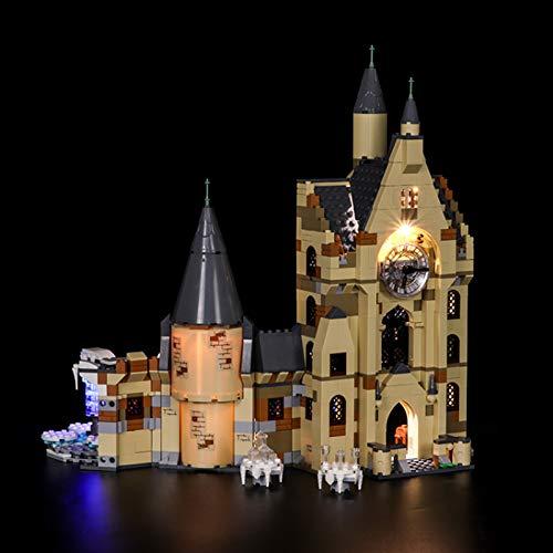 UUK Kit de iluminación para Lego 75948, Juego de iluminación LED Compatible con los Bloques de construcción de la Torre del Reloj del Castillo de Hogwarts de Harry Potter (no Incluido el Modelo)