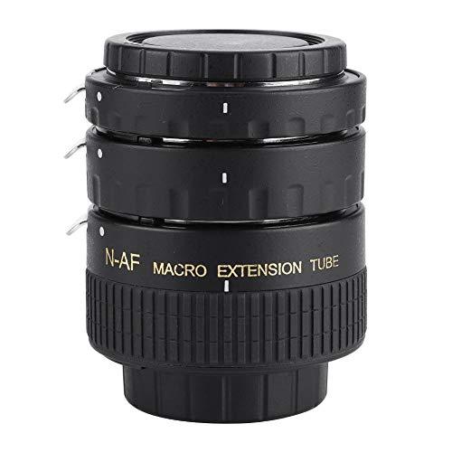 794 Juego de Anillos Adaptadores de Lente, Enfoque Automático Macro Fotografía Extensión Tubo de Lente 12 mm + 20 mm + 36 mm para Cámaras Réflex Digitales Nikon F Mount D7100 D7000 D5300(N-AF-B)