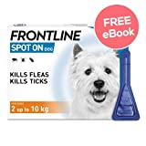 Frontline Spot On For Small Dogs - 3 Pipettes - INCLUDES EXCLUSIVE PETWELL®