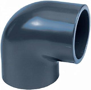 Kąt PVC 90° (32 – 110 mm) – złączka dociskowa do klejenia, średnica: 50 mm (2 cale)