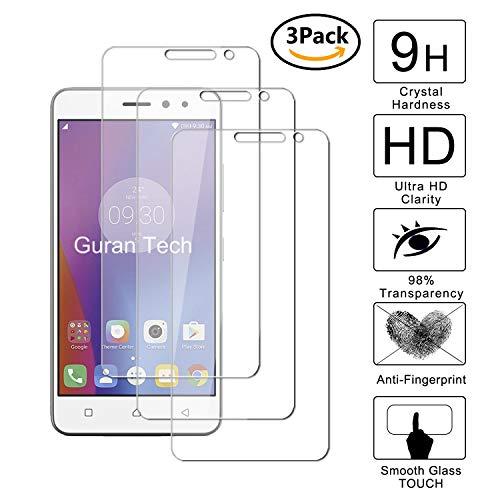 Guran® [3 Stück Displayschutz Glasfolie für Lenovo K6 Smartphone Hartglas Schutzfolie Film Kompatibel Panzerglasfolie