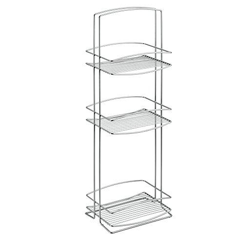 Metaltex serie Onda - Scaffale torre a 3 piani - (460703)