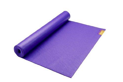Hugger Mugger Original Tapas Yoga Mat (68-Inch, Purple) by