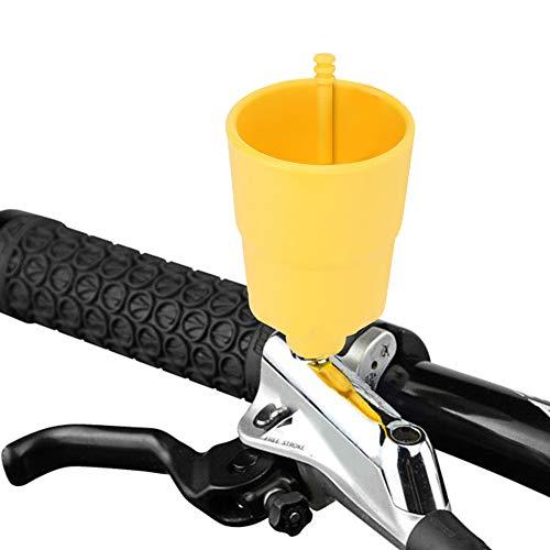 Delaman Kit de Purga del Freno de Disco Hidráulico Herramienta de Reparación de Purga de Aceite Mineral de Freno de Disco de la Bicicleta