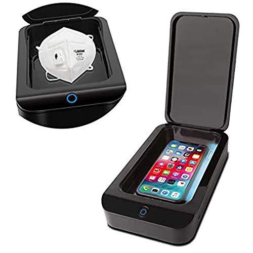 LABYSJ UV-Handy-Desinfektionsmittel, Smartphone-Desinfektionsmittel, Tragbare Box Cleaner Desinfector Phone Cleaner-Box Für Alle Handy-Tasten Zahnbürstenuhren