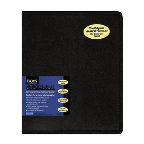 ProFolio by Itoya, Art ProFolio Evolution Presentation Display Book - Portrait, 8 x 10 Inches
