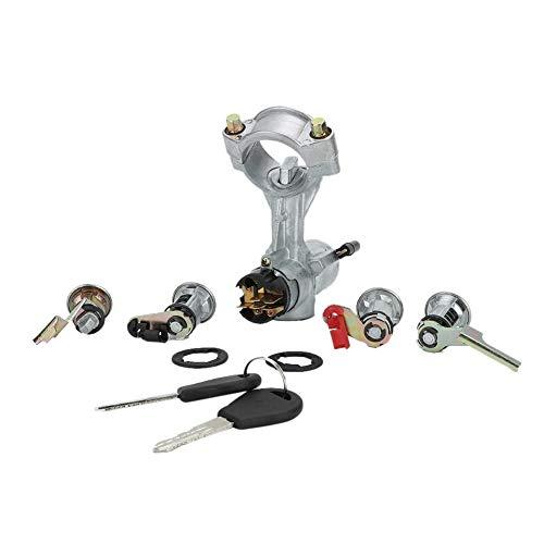 Unibell Interruptor de aleación de aluminio de la llave de encendido for NISSAN PATROL Y60 GQ LOCK 2 puerta del granero PUERTA 88-98