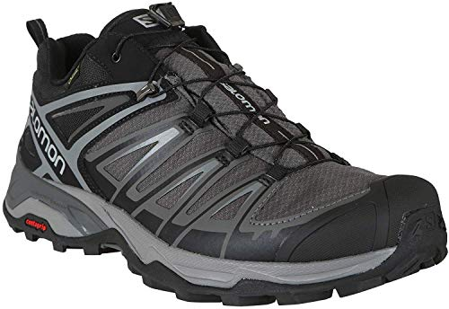Salomon Men's X Ultra 3 GTX Hiking Shoes, Black/Magnet/Quiet Shade, 10.5