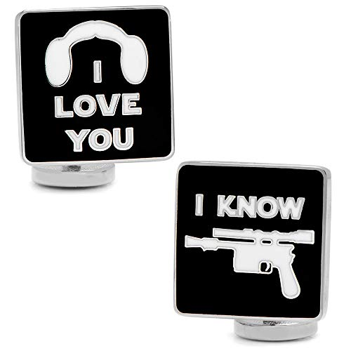 Star Wars I Love You I Know Icon Boutons de Manchette