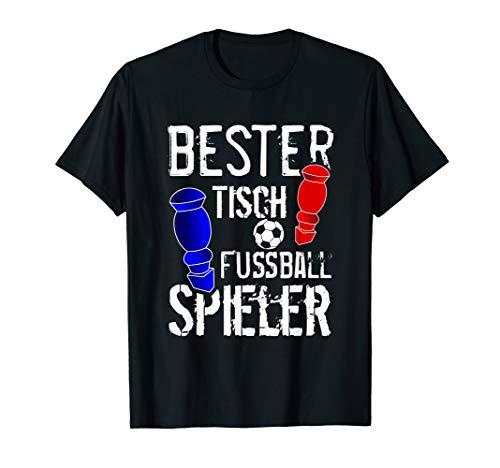 Herren Lustiges Tischfußball Fußball Tischkicker Spruch Geschenk T-Shirt