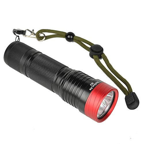 BrightBulb M3 3000 lúmenes Linterna 5 Modos 26650/26350/18650 Batería Trabajo Lámpara cámping Luz de antorcha portátil de Caza