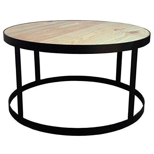 Indhouse Plat – Table en métal et Bois Gilbert