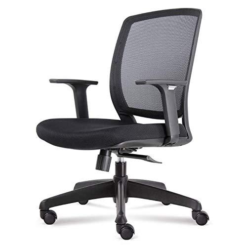 Bureaustoel Easy |Zwart | Ergonomische Bureaustoel | Voldoende Functies