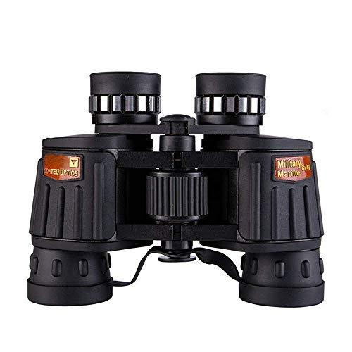 WEI-LUONG Telescopio binoculares monocular DM-4 10x50 Binocular Ajuste de precisión, de Alta definición de Alta Potencia, el Telescopio de Baja luz de visión Nocturna, HD BAK4 Impermeable de la Pesca
