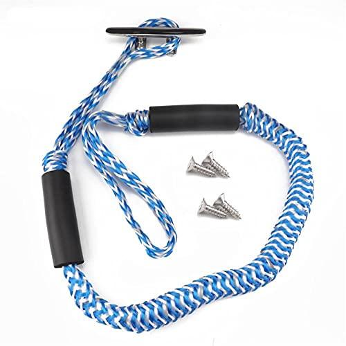 Sankuai Cuerda de Buque de 1 Piezas y de la Cuerda elástica de la Nave para Accesorios para Botes, Accesorios de pontones, Jet ski, Kayak, pontón (Color : C)