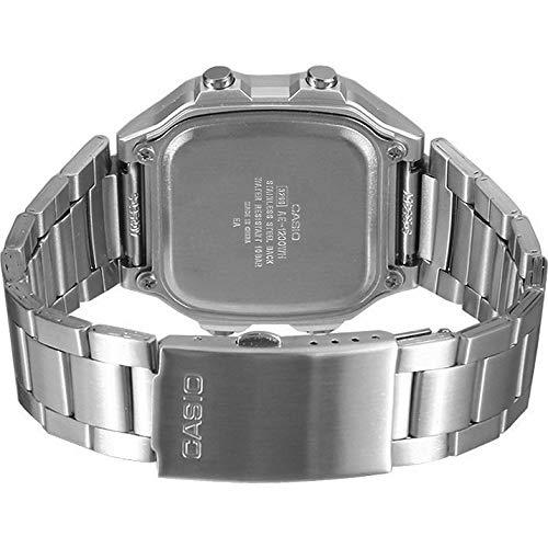 Casio Orologio Digitale Uomo con Cinturino in Acciaio Inox AE-1200WHD-1AVEF