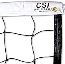 Cannon Sports Volleyball Net - Indoor/Outdoor for Competition, Backyard, Gymnasium Training, & Beach Play (32 FT)