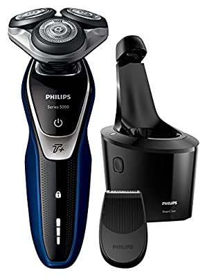 Philips Series 5000 S5572/10 Wet and Dry Men's Electric Shaver with Turbo Plus Mode and SmartClean from Philips