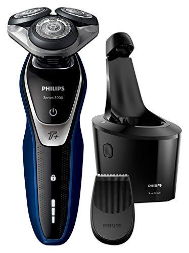 Philips Series 5000 S5572/10 Wet and Dry Herren Elektrorasierer mit Turbo Plus Modus und SmartClean