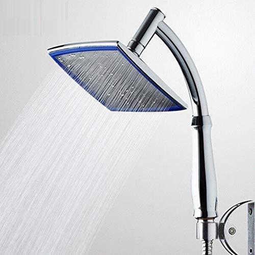 Cabezal de ducha Baño de mano Cabeza de ducha de mano Cabeza de ducha giratoria 360 grados lluvia cabeza de ducha con mango brazo cabeza de mano