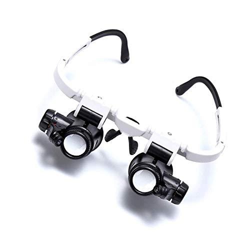 8 x 15 x 23 x diadema lupa reloj reparación precisión cabeza gafas