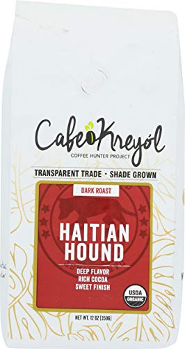 Cafe Kreyol, Coffee Hatian Hound, 12 Ounce