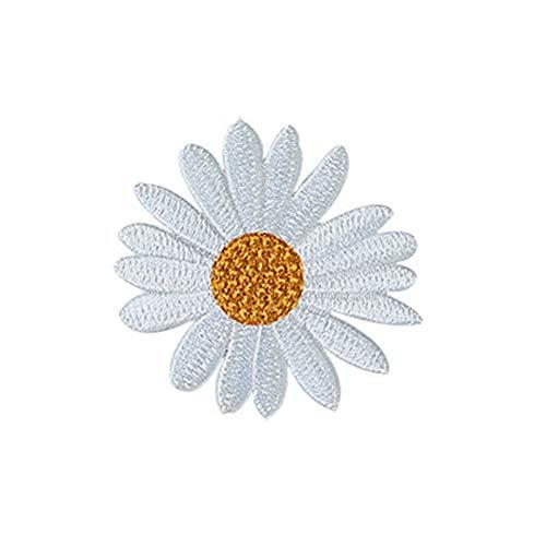 BIGBOBA Patch Fleur De Soleil Décore tes vêtements Montrer la personnalité