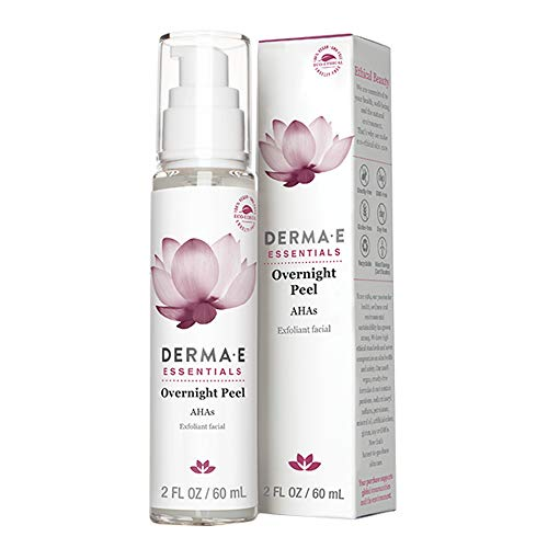 Derma E, AHA (Alpha Hydroxy Acids) Beauty Fluid, 2 FL oz (60 ml)