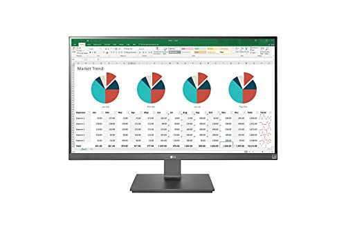 LG 27UK670 Monitor 27' Ultra HD 4K LED IPS, 3840 x 2160, Radeon FreeSync 60 Hz, 1 Miliardo di Colori, 1x USB-C, 1x Display Port, 2x HDMI, 2x USB 3.0, Multitasking, Stand Pivot, Nero