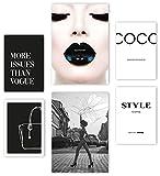 Mia Félice Premium Poster Set » Style Icons « 2x A3 | 4x