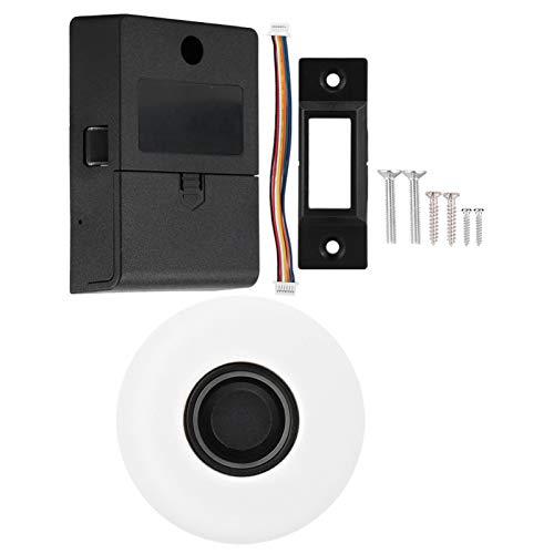 Cerradura sin Llave, Semiconductor Touch Cerradura Manual Cerradura automática Cerradura Inteligente con combinación de Huellas Dactilares, para cajón de Armario