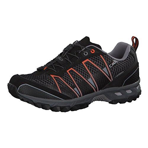 CMP Altak, Zapatillas de Running para Asfalto Hombre, Negro (Nero-Orange 72bn), 41 EU