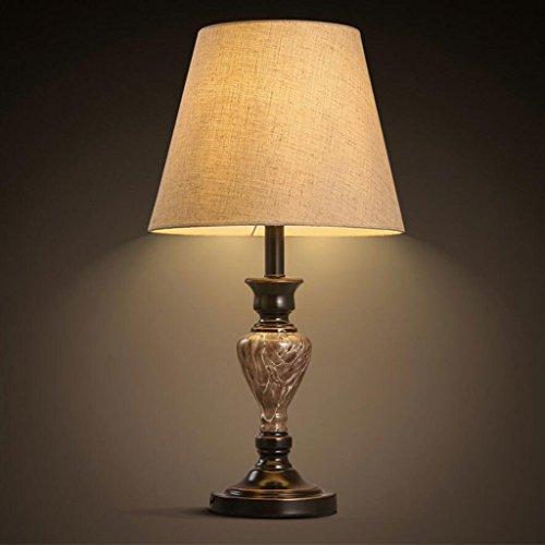 Lampe de table lampe de bureau Lampe de bureau en résine chambre à coucher salon de chevet lampe de table de décoration d'hôtel lampe de bureau créative classique décoration de mariage créative lampe de table décorative, E27