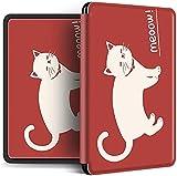 Funda Para Kindle - Divertido Patrón Animal Abstracto Slim Magnetic Smart Cover Para Amazon Kindle Paperwhite 4 2018 Case For New Kindle Paperwhite 10Th Gen 2018 Auto Wake Up / Sleep Shell, Style C,
