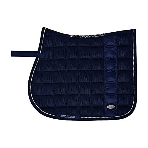 Kingsland Tapis de Selle KLLucinda - Bleu foncé-Dressage Cheval