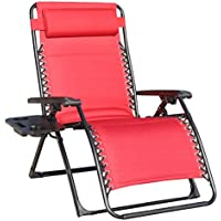 Goldsun Oversize XL Padded Zero Gravity Patio Recliner Chair