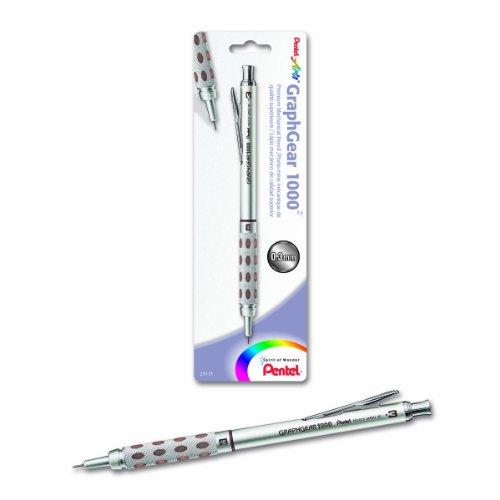 Pentel Arts GraphGear 1000 0.3mm Premium Mechanical Pencil (PG1013EPABP)