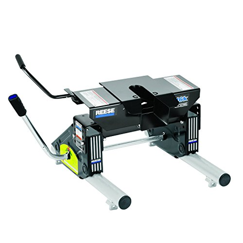 Reese 30075 Fifth Wheel Hitch with Round Tube Slider 16000 lb Load Capacity