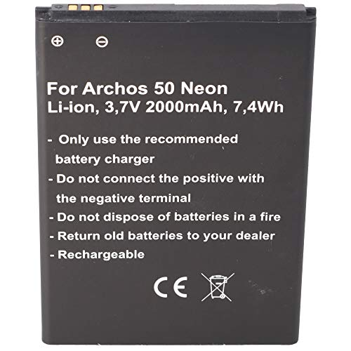 Akku passend für den Archos AC50NE Akku Archos 50 Neon