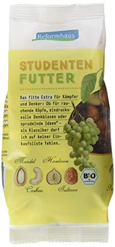 Reformhaus Studentenfutter Bio, 6er Pack (6 x 200 g)