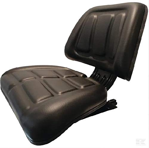 Traktorsitz aus PVC, 430 x 470 x 490 mm.